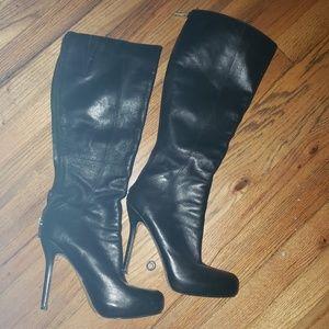 Boutique 9 Black leather boots.
